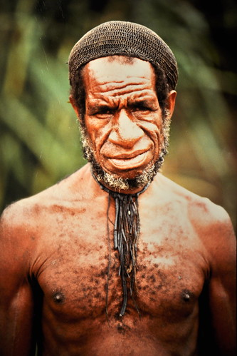 Western New Guinea - Baliem Valley - Dani Man - 16
