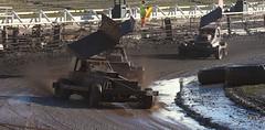 BRISCA F1 Stock Cars @ Owlerton - Nov '13 (sjs.sheffield) Tags: november cars mud stadium sheffield stock f1 racing motor oval motorsport shale brisca owlerton 2013 101113 sjssheffield