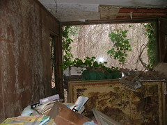 DSCF2374 (katiesimkins) Tags: houses camp urban house abandoned home nature pool strange beautiful trash children bathroom graffiti nationalpark scary bedroom junk decay interior ground toilet places creepy abandon vandalism wigs lonely behind left exploration destroyed finds myphotos hoarder squatters abandonedhome abandonedhouses katiesimkins abandonedfinds abandonedography