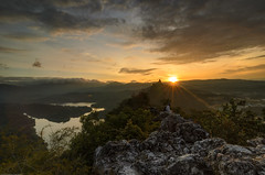 Looking at 1st Sunrise of 2014 (Muhammad Hafiz Muhamad) Tags: nature sunrise landscape nikon state hill tokina malaysia bukit selangor hafiz tabur bukittabur 3stop leefilter 09h d7000 tokina1116mmf28atx116prodx muhammadhafizbinmuhamad