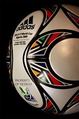 KOPANYA FIFA U-17 WORLD CUP NIGERIA 2009 ADIDAS MATCH BALL 05 (ykyeco) Tags: world cup ball football fussball top fifa soccer ballon nigeria m