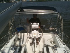 """sail boat delivery to Clearwater • <a style=""""font-size:0.8em;"""" href=""""http://www.flickr.com/photos/69210373@N08/12290230793/"""" target=""""_blank"""">View on Flickr</a>"""
