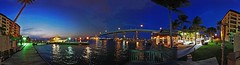 I'll Cross That Bridge When I Get To It - IMRAN™ -- CellPhone 360 Panorama. 1400+ Views! (ImranAnwar) Tags: 2012 beach blue boating dusk flickr florida fortmyersbeach gulfofmexico imran imrananwar inspiration landscapes lifestyles marine nature outdoors panorama peaceful sand sea seasons sky sun tranquility travel water winter yachting