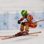 Sam Kirshenblatt - Kimberley Keurig downhill race action PHOTO CREDIT: Derek Trussler