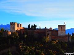 Alhambra de Granada desde San Nicolas (ASpepeguti) Tags: espaa andaluca spain olympus andalucia granada andalusia albaycin alandalus miradorsannicolas zd1454mm e620 aspepeguti photomatixpro42
