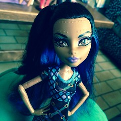 Infect me with your love (MyMonsterHighWorld) Tags: fashion monster dance high doll deluxe class steam pack mattel robecca