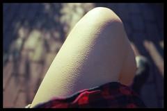 Goose Bumps (abbi.hailey) Tags: light color film outside march nikon kodak leg negative saturation filmcamera negativescan filmscan goosebumps ektar