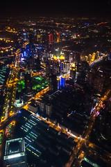SWFC @ Night - Image 31 (www.bazpics.com) Tags: china city tower glass skyline skyscraper radio tv shanghai centre area pearl tall oriental pudong financial jinmao lujiazui swfc