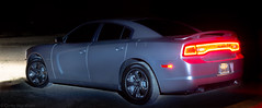 Charger rear profile, light paint (Corey Ingraham) Tags: cars car muscle beast dodge hemi rt charger