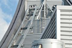 AHS_Leipzig03 (alexander h. schulz) Tags: architecture germany deutschland leipzig augustusplatz sachsen architektur uni universitt metall unileipzig aussichtsplatform hermannhenselmann henselmann