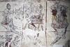 Llancarfan_Mural_2014_0003 (Neil Beer) Tags: beer swansea wales george mural neil medieval seven sins deadly llancarfan