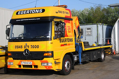 Mercedes Recovery Truck Egertons X759EVS (NTG's pictures) Tags: truck mercedes warrington services recovery lymm egertons x759evs