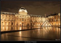 """Le Louvre """"by night"""" (HimalAnda) Tags: light paris france night louvre lumière nuit pyramide canoneos70d eos70d stéphanebon"""
