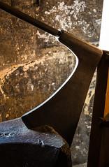 York Micklegate Bar Museum (alh1) Tags: york england axe northyorkshire yat executioner barwalls micklegatebarmuseum