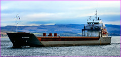 Scotland river Clyde Greenock a cargo ship called Belterwiede 9 February 2015 by Anne MacKay (Anne MacKay images of interest & wonder) Tags: by river anne scotland clyde greenock ship picture 9 cargo mackay february freighter 2015 belterwiede