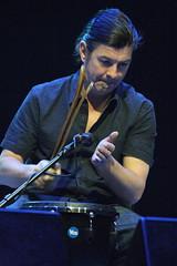 Llan De Cubel (2015) 23 - James Mackintosh (guest) (KM's Live Music shots) Tags: scotland worldmusic celticconnections mitchelltheatre jamesmackintosh llandecubel geatbritain concussionsticks