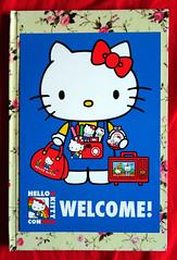 Hello Kitty Con promo card (Jay Tilston) Tags: hello promo kitty souvenir card con 2014