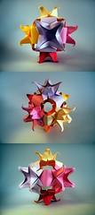 Blooming Cube - Meenakshi Mukerji (Rui.Roda) Tags: origami modular cube papiroflexia cubo blooming meenakshi mukerji papierfalten