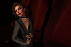 """A Study In Scarlet"" (Deva Westland) Tags: red scarlet sl secondlife devastating"