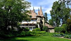 Chteau d'chandens (Diegojack) Tags: nikon chateau monuments parc jardins verdure echandens nikonpassion d7200
