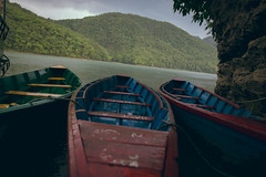 (Alek S.) Tags: nepal water river boat pokhara