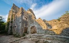 Dvigrad (06) (Vlado Fereni) Tags: history castles wall landscapes croatia adriatic istria hrvatska istra dvigrad nikond600 citiestowns castleschurches historymystery sigma12244556