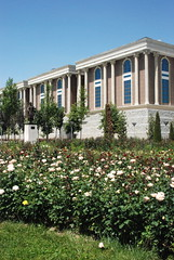 Dushanbe - National Flag Park and the National Museum (jrozwado) Tags: park museum asia tajikistan dushanbe       nationalflagpark