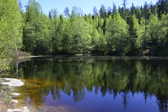 NRG3622 (P Bairos) Tags: lake water norway lago norge agua noruega akershus vann innsj gjerdrum bairos nikond800 vardefjellet