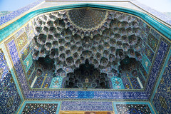 Shah Mosque 3 (Martin Tsvetkov) Tags: travel architecture photography lights iran perspective mosque wallpapers isfahan shah
