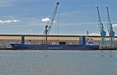 Nestor (AG) (Kay Bea Chisholm) Tags: docks vessel cargo birkenhead nestor bluecranes antiguabarbuda dukestbridge fourbridges eastfloatquay