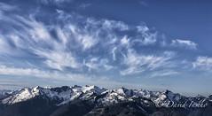 Radiant Snow King Mtn (D. Inscho) Tags: usa clouds washington glaciers northcascades snowkingmtn