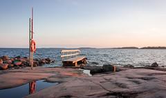 IMG_4495 (khr83) Tags: ocean sunset helsinki helsingfors hav lauttasaari drums