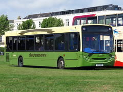 Stagecoach 27651 Alexander Dennis Enviro300 403DCD (KX10KZD) (Southdown centenary livery) at Southsea Spectacular 2016 (FF3170) Tags: portsmouth e300 southsea adl