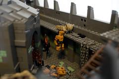 Cirith Ungol (Elio7) Tags: tower rock sam lego lordoftherings frodo elio returnoftheking orks mordor 2016 mocpages cirithungol thetowerofcirithungol melo2016