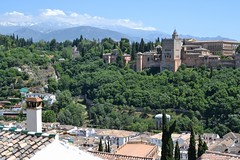 The Alhambra, Granada (Alexei L) Tags: spain granada alhambra palace castle arabic architecture europe city mountains