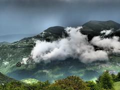Bulgaria (jan-krux photography - thx for 1.4 Mio+ views) Tags: mountains nature fog clouds landscape europa europe nebel natur floating wolken olympus berge bulgaria valley landschaft tal omd balkan em1 bulgarien aufsteigen iskar