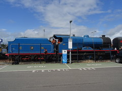 Waterside Station, 21st of June 2016 (nathanlawrence785) Tags: ireland station train compound great railway loco class steam v londonderry mk2 locomotive ni northern translink railways 440 gnr waterside coaches derry mkii nir rpsi