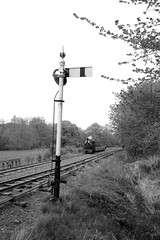 BLR 47999bw (kgvuk) Tags: trains locomotive railways steamtrain steamlocomotive winifred narrowgaugerailways blr llangower balalakerailway rheilfforddllyntegid 040st quarryhunslet