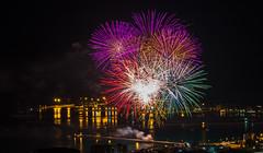 Fuochi d'artificio di San Giovanni 2016 a Vado Ligure [5] (Tiziano Caviglia) Tags: sea port lights mare fireworks liguria porto luci fuochidartificio marligure vadoligure rivieradellepalme portovado