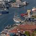 Bergen Harbour from Floyen