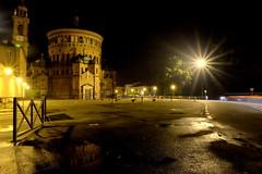 Last goodbye (Michele Agazzi) Tags: auto santa maria bramante chiesa luci crema pozzanghera