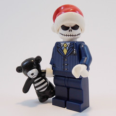 Is it Christmas already? (Sweeney Todd, the Lego) Tags: bear christmas monster lego teddy