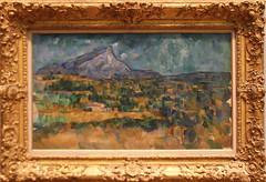 Paul Cezanne - Mount Sainte-Victoire 1902-06 (ahisgett) Tags: new york art museum met metropolitian