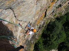 P7031925 (diegobracco) Tags: gianluca arrampicata bourcet multipitch urlodimunch