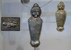 Fertility ex voto charms (Monceau) Tags: paris silver fertility charms exvoto musedelhomme
