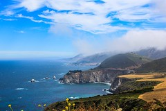 Let (asliakal) Tags: fog mist cliff nature 550d color canont2i canon beauty ocean cloud coast travel bigsur california