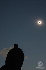 Total Solar Eclipse, Russia (Eugen Kamenew) Tags: travel sky sun solar eclipse russia space himmel astro explore astrophotography sonne    sonnenfinsternis