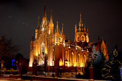 The Roman Catholic Cathedral of the Immaculate Conception of the blessed virgin Mary in Moscow (Sankab) Tags: church catholic faith religion belief vera creed the doctrine