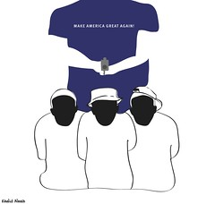 our3boys (khalid Albaih) Tags: khalid albaih cartoons khartoon freedom speech press political       refugees welcome isis is islamic belgam make america great again madonna iraq syria sudan yemen listen gob