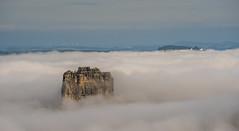 Wattebusche (matthias_oberlausitz) Tags: nebel falkenstein festung elbtal elbsandsteingebirge knigstein nebelmeer hntzschelstiege